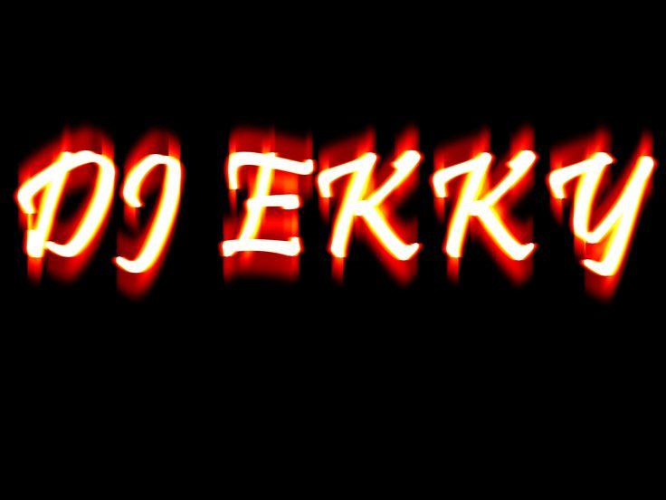 DJ EKKY TYPHOGRAPHIC