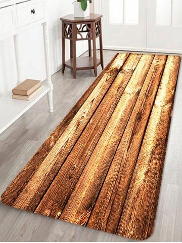 Wooden Printed Skidproof Area Mat Rugs To Put On Wall To Make It
