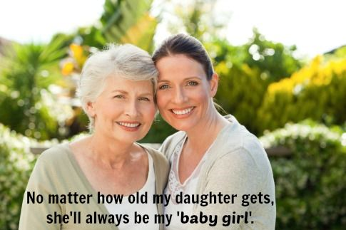"""My daughter will always be my """"baby girl"""""""