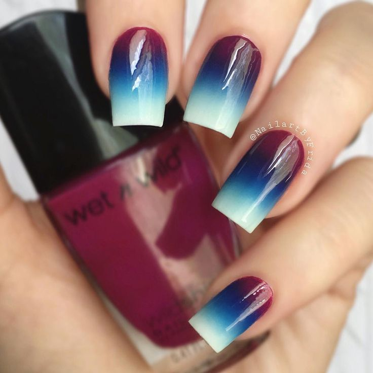 "Gefällt 1,062 Mal, 42 Kommentare - Nail Tutorials By Frida ☺️ (@nailartbyfrida) auf Instagram: ""I'm so excited! Watch my upcoming video tutorial to find out why  #gradient #ombre Polishes:…"""