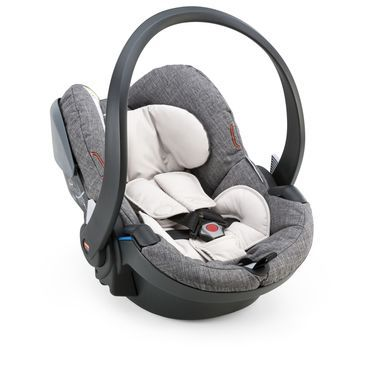 Weighing in at only 4.2 kilos, the Stokke® iZi Go X1 by BeSafe® is easy to install and even easier to carry. This ultra light car seat includes an adjustable 5 point safety harness, an integrated sun canopy and plush padding for exceptional comfort and added protection. Best of all, Stokke® iZi Go X1 by BeSafe® can also be used as a stroller seat with all Stokke® strollers without the use of adaptors, it simply clicks right onto the chassis. Available in colours to match for superior ...