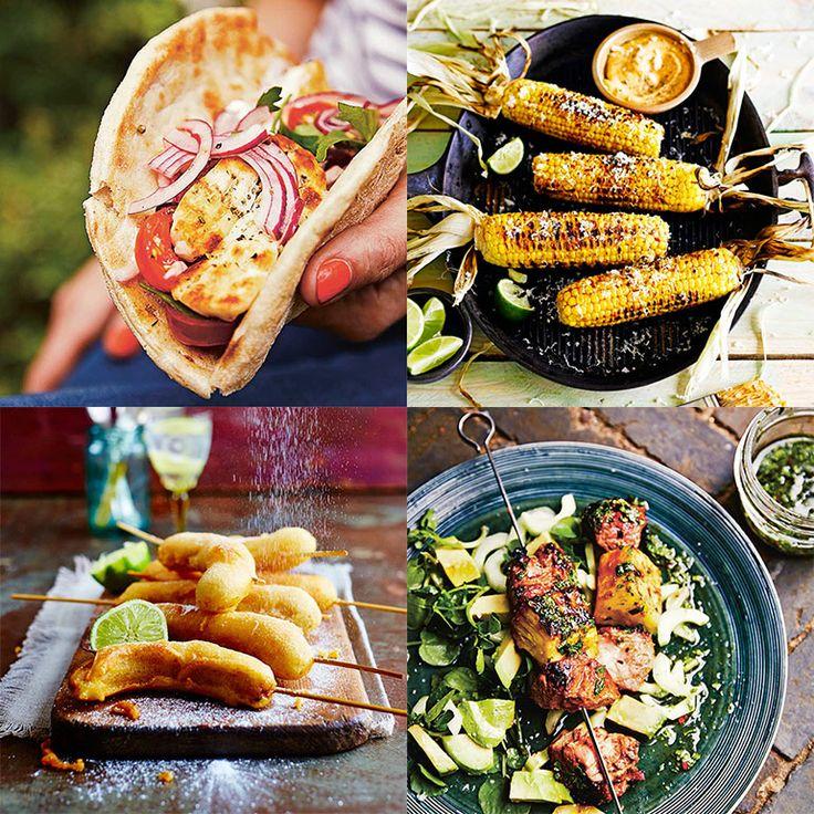 Deze gevulde broodjes zijn perfect voor de lunch tijdens een picknick of als avondeten op een doordeweekse dag. Serveer met alle groente die je voor handen hebt!    1 Bak de pitabroodjes in een voorverwarmde oven of broodrooster.    2 Kook de bataat,...