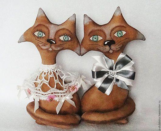 Игрушки животные, ручной работы. Ярмарка Мастеров - ручная работа. Купить Котопарочка.. Handmade. Кот кошка кот кот