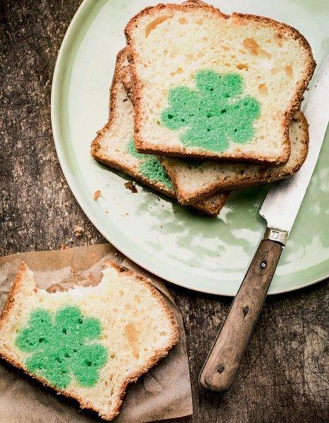 Un délicieux cake pour la Saint-Patrick ! http://www.elle.fr/Elle-a-Table/Recettes-de-cuisine/Cake-de-la-Saint-Patrick-2933742