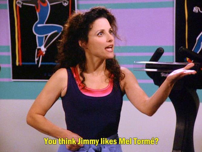 Jimmy LOVES The Velvet Fog! #Seinfeld #ElaineBenes # ...