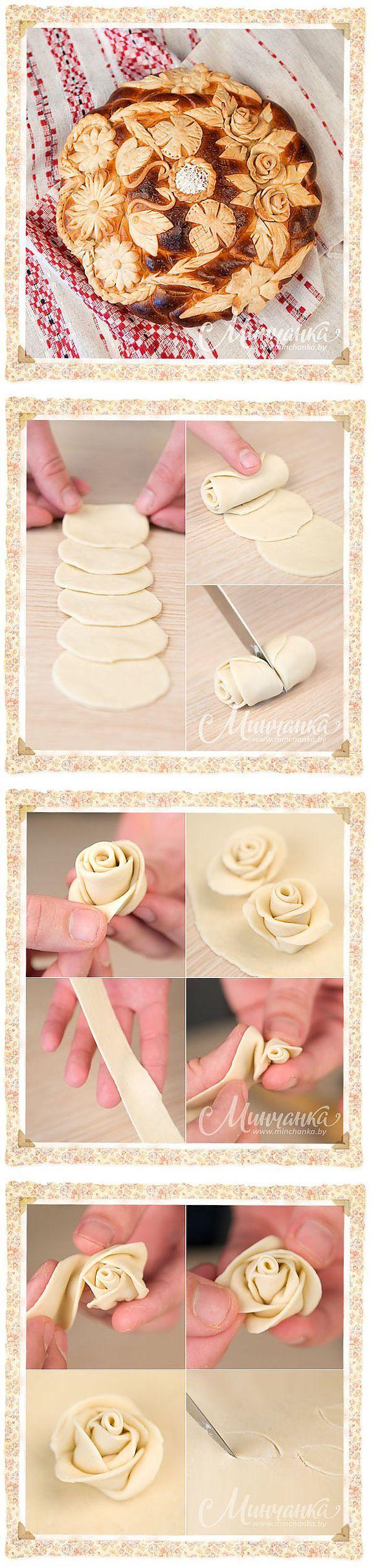Lo hermosa para decorar el pan u otros productos horneados.