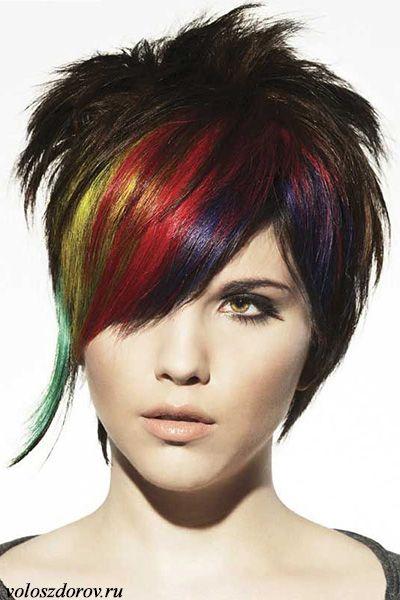 Фото омбре на волосах | Прически, Стрижка, Цвет волос