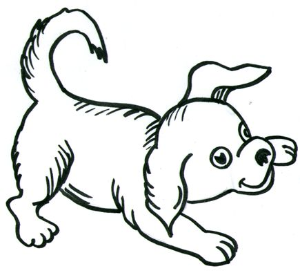 How to Draw Dogs Step by Step Cartooning Drawing Tutorial for Kids