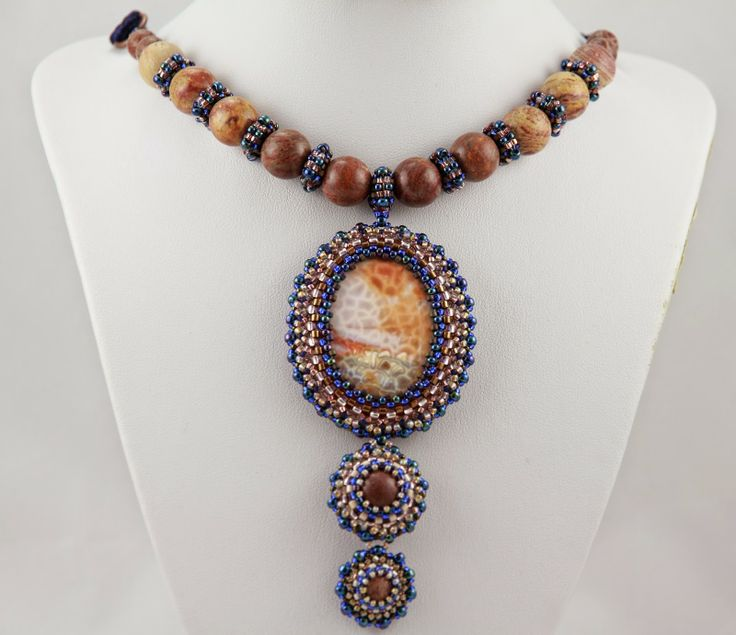 polandhandmade.pl  #polandhandmade #beading #jewelery #necklace
