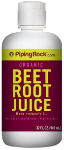 Organic Beet Juice | beetroot juice Benefits  | Piping Rock Health Products