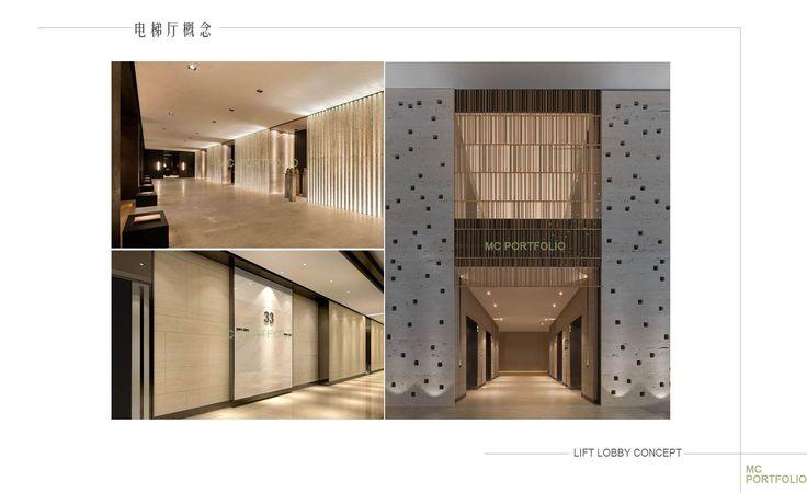 lift lobby concept design   LIFT LOBBY/CORRIDOR   Building ...