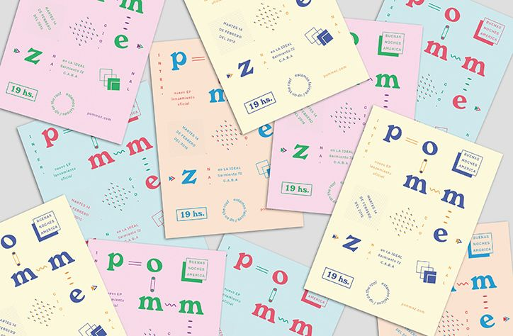 Cecilia Serafini's graphic design uses simple shapes and pretty palettes that belie more serious undertones.