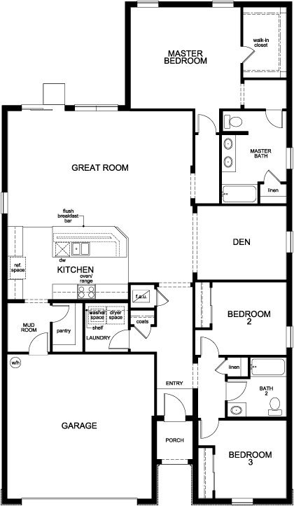16 best new homes images on pinterest | kb homes, floor plans and