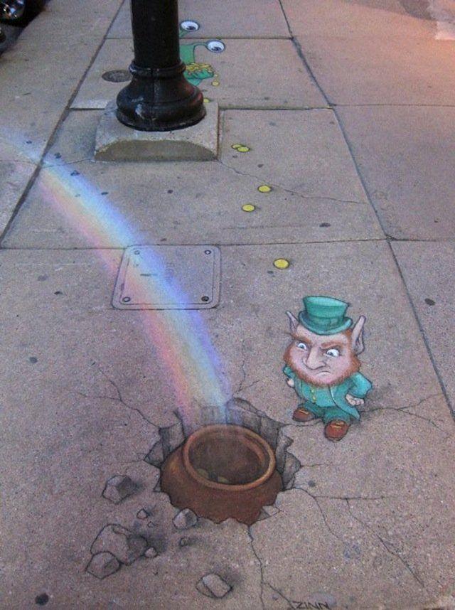 Chalk Art by David Zinn 25