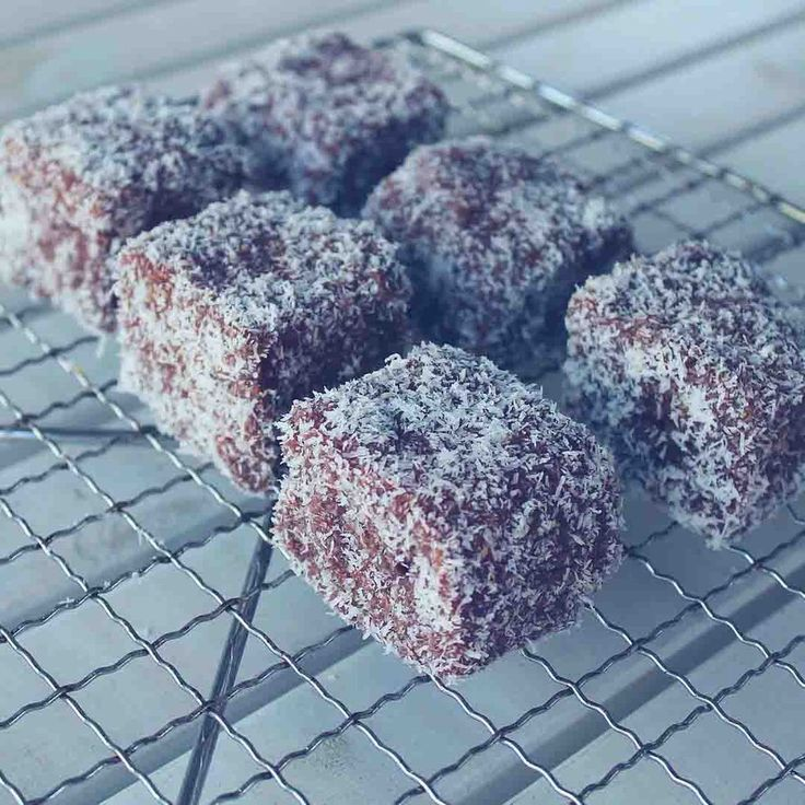 An easy recipe to make gluten free lamingtons. These are also dairy free, soy free, nut free and can be egg free. Happy Australia Day!