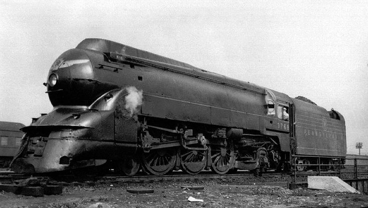 Pennsylvania Railroad K4s 4-6-2 #1361 [1452x1040] : steamporn