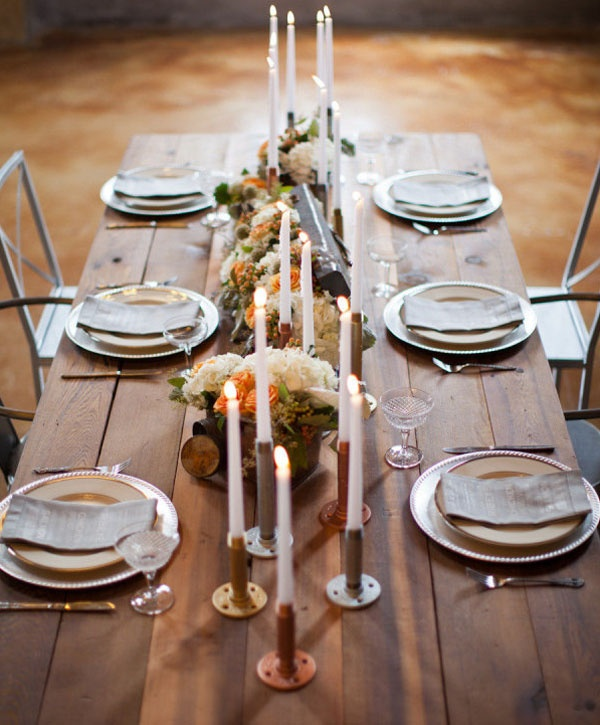 Wedding Reception Tablescapes. Wedding Reception Tablescapes: The tablescape is the overall design that describes each element of your wedding reception table decorations such as tablecloths, napkins and chair covers, plates and chargers, utensils, glasses, centerpieces, favors, table numbers, and menu cards There are many ways and a variety.