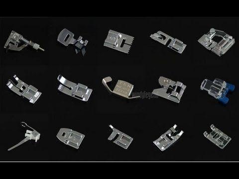 Calcadores para maquina doméstica - YouTube