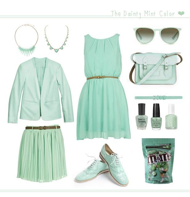 pastel room: Mint Color Fever