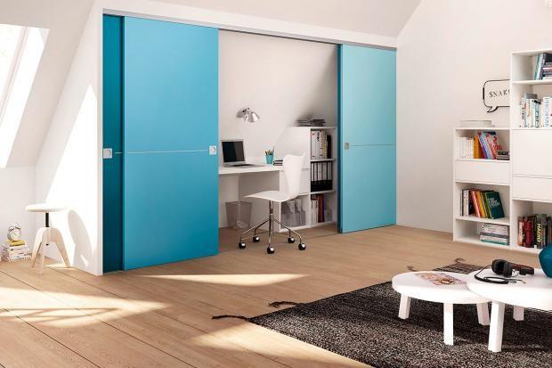 Raumplus: Schiebewand mit Home-Office