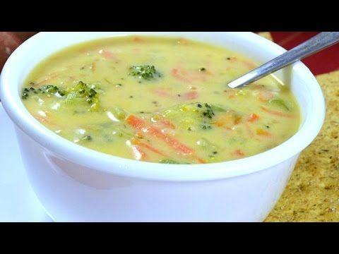 how to make brocolli soup