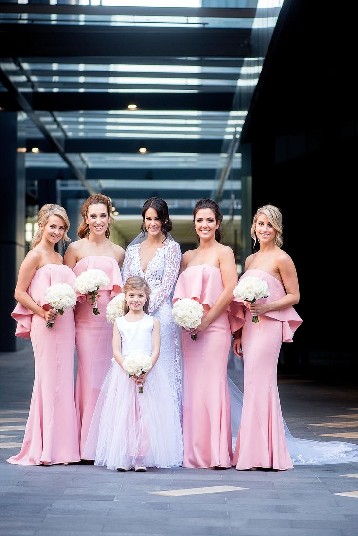 47 best wedding dresses perth images on pinterest bays color aelkemi lace wedding dress and jarlo pink bridesmaids perth photography by deray simcoe ombrellifo Choice Image
