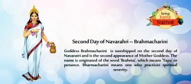 Second Day of Navarahri – #Brahmacharini Goddess Brahmacharini is worshipped on the second day of #Navaratri and is the second appearance of Mother Goddess.