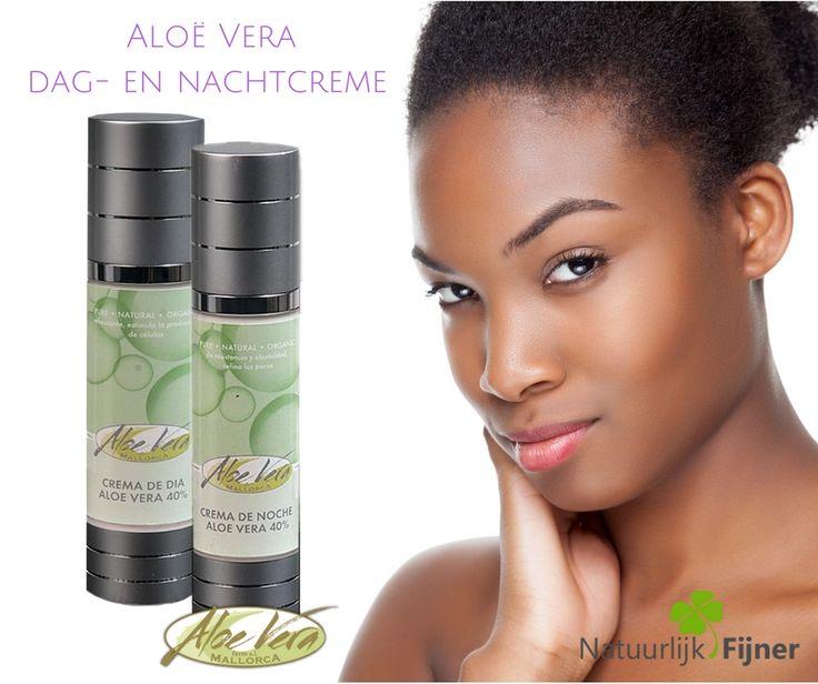 Aloë Vera dag-en nachtcreme Overvloedige nachtcrème met waardevolle oliën, shea boter en vitamine complex. Zeer effectief voor een gevoelige, droge en veeleisende huid. De actieve bestanddelen hydrateren de huid en geeft elasticiteit.