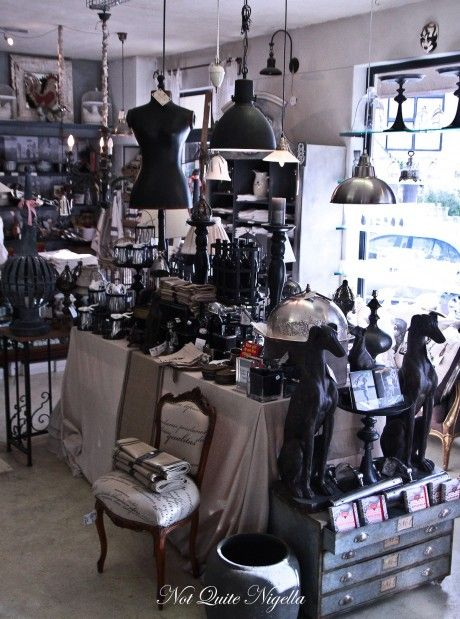 Wonderful shopping in Franschhoek - South Africa