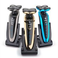 Wish   5 Head Shaver Waterproof Blade 5D Electric Shaver Beard Rechargeable Electric Razor For Men Face Shaving Machine