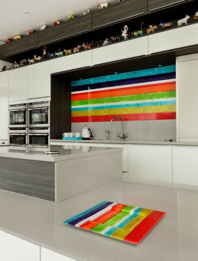HappyModern.RU | Скинали для кухни (46 фото): оригинальный и неповторимый интерьер кухни | http://happymodern.ru