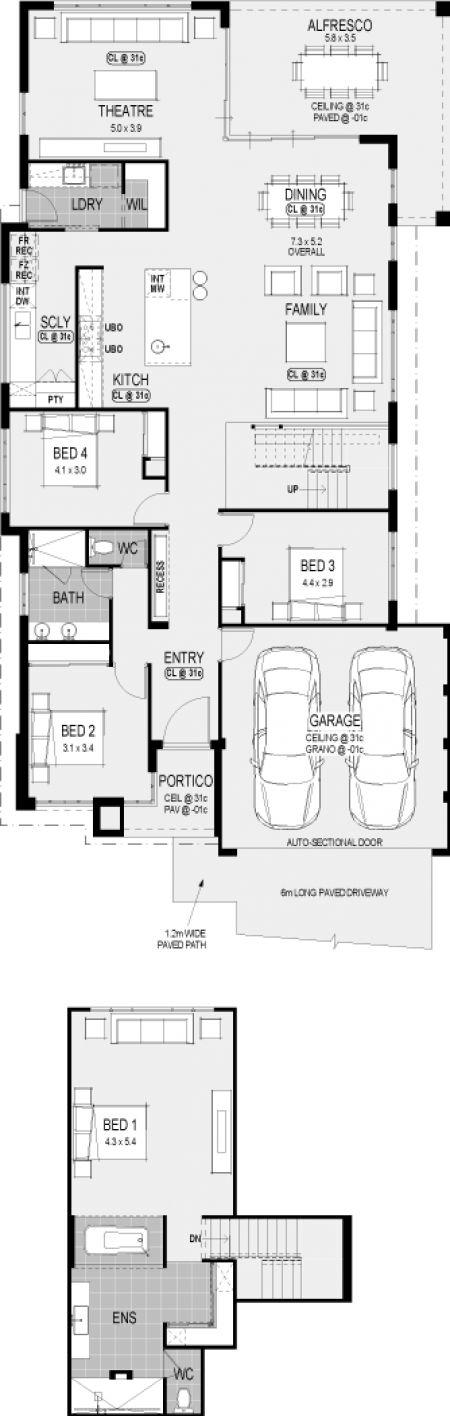 #StudioPlatinum #floorplan #Perth #HomeGroupWA #DisplayHomes