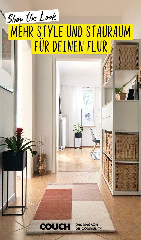 Grosser Empfang Mehr Style Stauraum Fur Deinen Flur Eingangsbereich Einrichten Flure Raum
