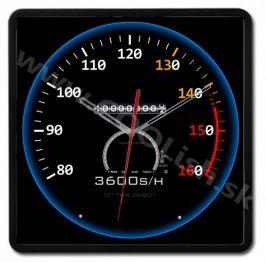 Nástenné dizajnové hodiny SPEED