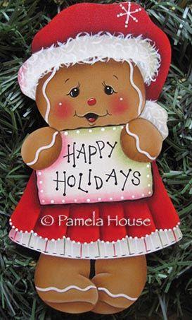 Happy Holidays Ginger Girl