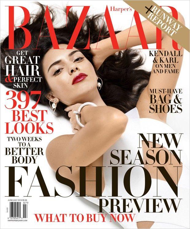Кендалл Дженнер в Harper's Bazaar (Интернет-журнал ETODAY)