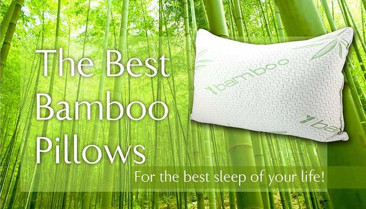 What is the best bamboo pillow? How can a it help with night sweats? Are bamboo pillows hypoallergenic? Check our bamboo pillow reviews for answer!