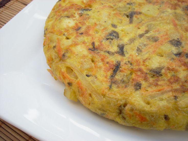 RECETINES ASGAYA: Tortilla de Patata con Alga Nori