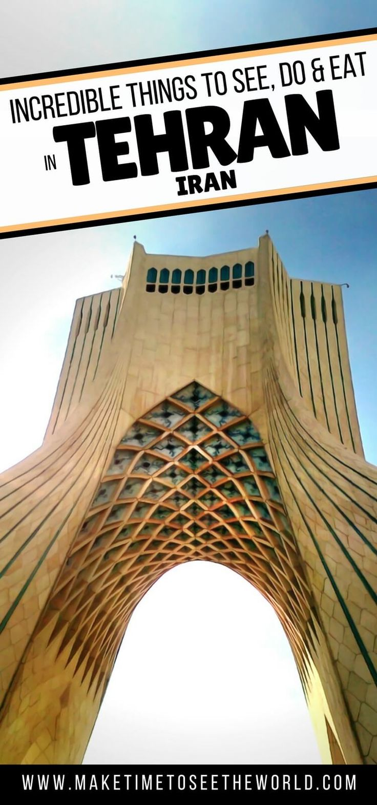 Thinking of Exploring Iran, Tehran is a great introduction to the country! Click here for the top things to do in Tehran plus where to stay & places to eat! ********** Tehran   Iran   Travel in Iran   Things To Do in Iran   Things to do in Tehran   Middle East   Travel in the Middle East   #Tehran #Iran #MiddleEastTravelTips