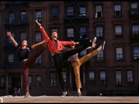 "West Side Story - Prologue - I love this!  It's one of the best things ever, but it could really be renamed ""Bullies Who Chasse and Spot Their Turns."""