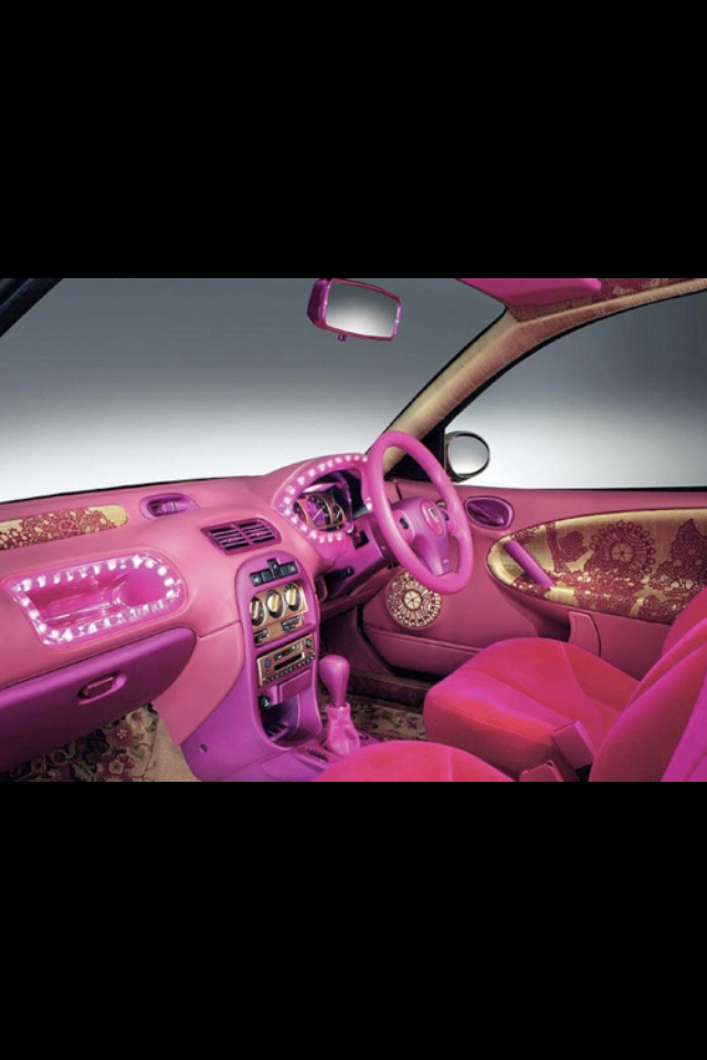 Pink Car Interior And People Think My Is Crazy NOW