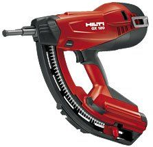 Hilti Gx120 Nail gun - http://www.shopeasyplus.com/hilti-gx120-nail-gun/