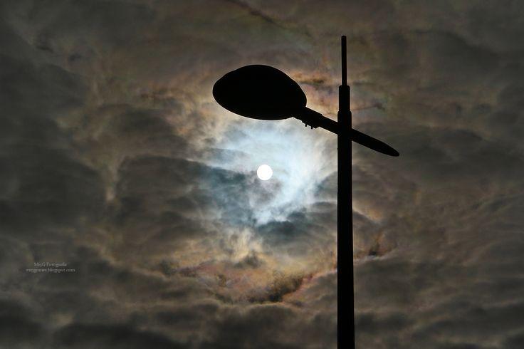 ***M13G-Fotografia: O Sol a espiar...