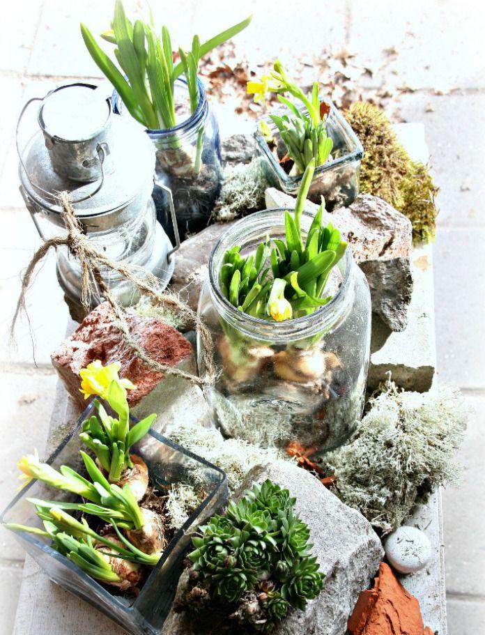 Vintagentti: Diy; Terassipöytä valoisaks kevääks, lämpimäks suveks