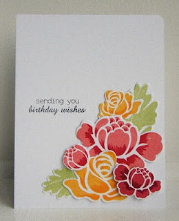 Rosie Posie: Ink Stamps, Flowers Cards, Cards Ideas, Birthday Wish, Handmade Cards, Birthday Cards, Stamps Sets, Ink Pads, Papertrey Ink