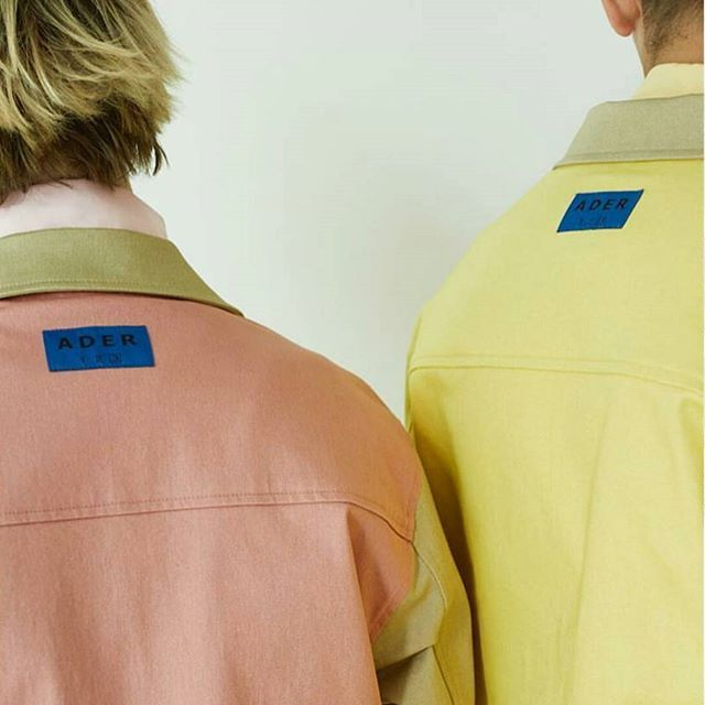 regram @kstudioberlin half&half jacket #ader#adererror#twin