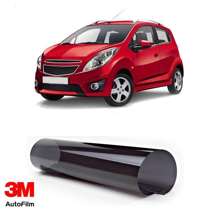 3M Auto Film / Kaca Film Mobil - Paket Eco Black u/ Chevrolet Spark  - Paket 3M Auto Film tipe Black Beauty u/ kaca depan, kaca samping, & kaca belakang - Menahan 99.9% sinar UV, Setara SPF 1000 - Tidak mengandung metal. http://tigaem.com/3m-auto-film/1859-3m-auto-film-kaca-film-mobil-paket-eco-black-u-chevrolet-spark.html  #paketecoblack #autofilm #kacafilm #kacamobil #chevrolet #spark #3M