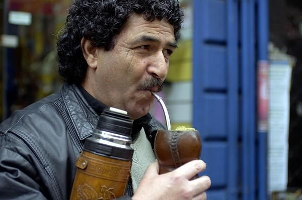 On the streets in Uruguay, people can be seen carrying their Mate cup wherever they go.