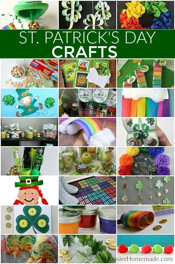 St. Patrick's Day Crafts   St. Patrick's Day Crafts Ideas #stpatricksdaycrafts #…