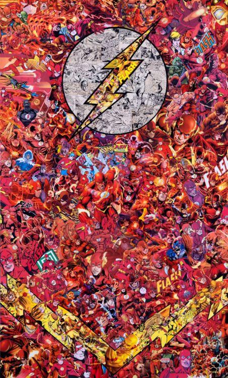 The Flash Collage - Mr. Garcon
